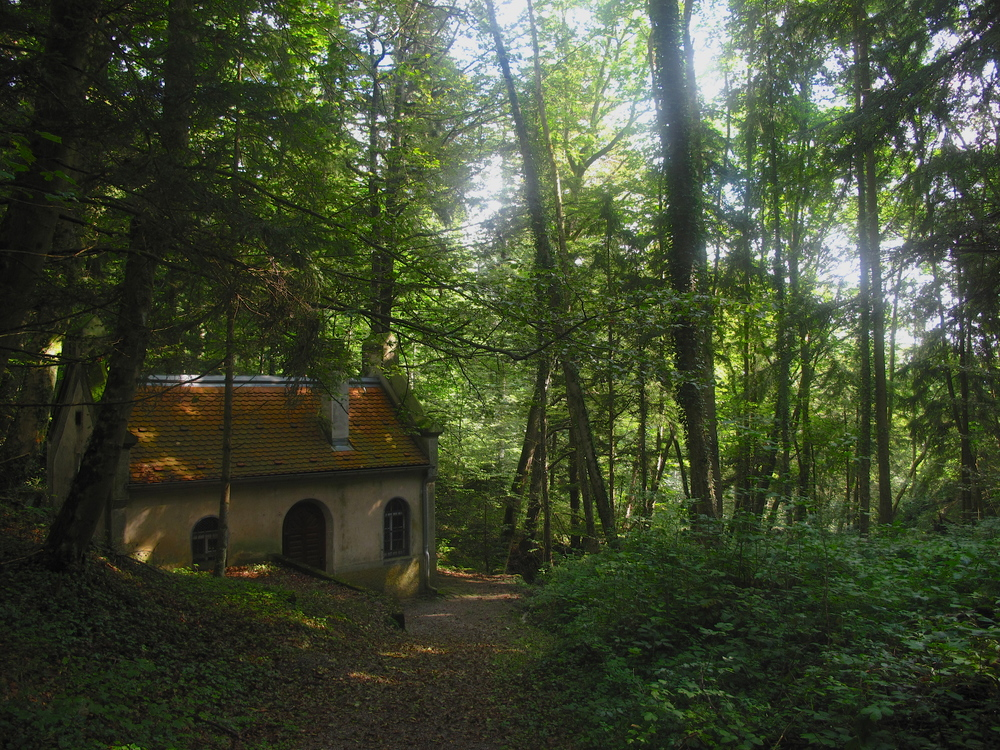 Witch's cottage in the Black Forest.