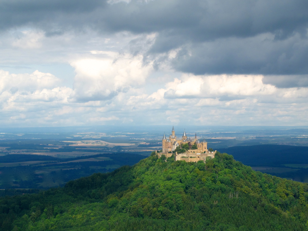 Hohenzollern Castle - a fairytale German castle on a hilltop.