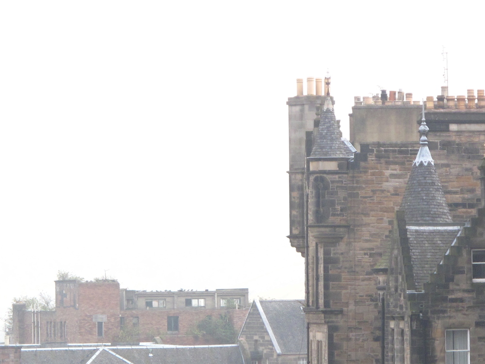Chimneys in Edinburgh.