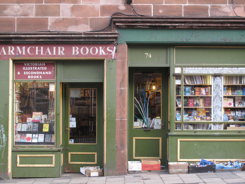 Armchair Books - bookshop in Edinburgh.