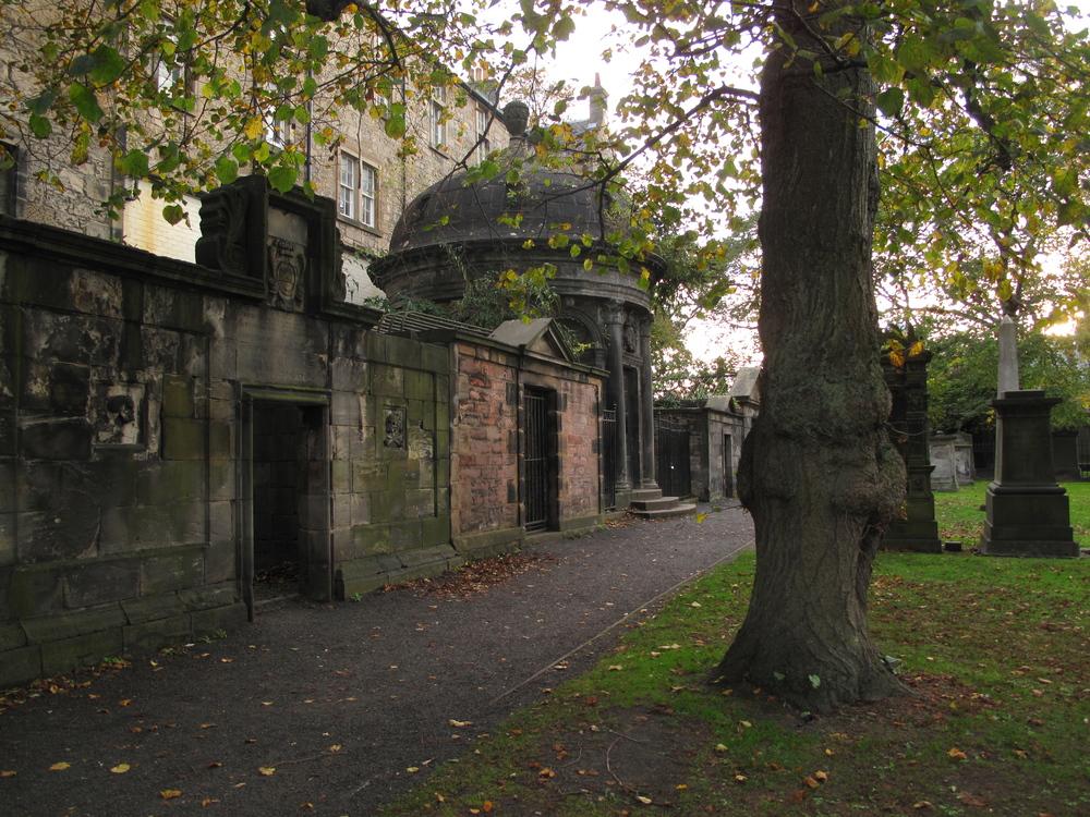 Greyfriars Kirkyard, Mackenzie's Tomb and poltergeist.