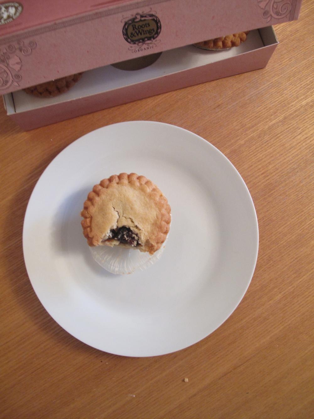 Organic british christmas mince pies