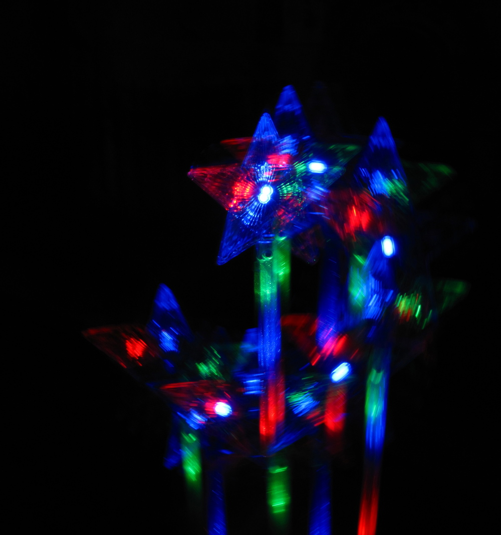 Light up fairy wand from St Andrew's celebrations.