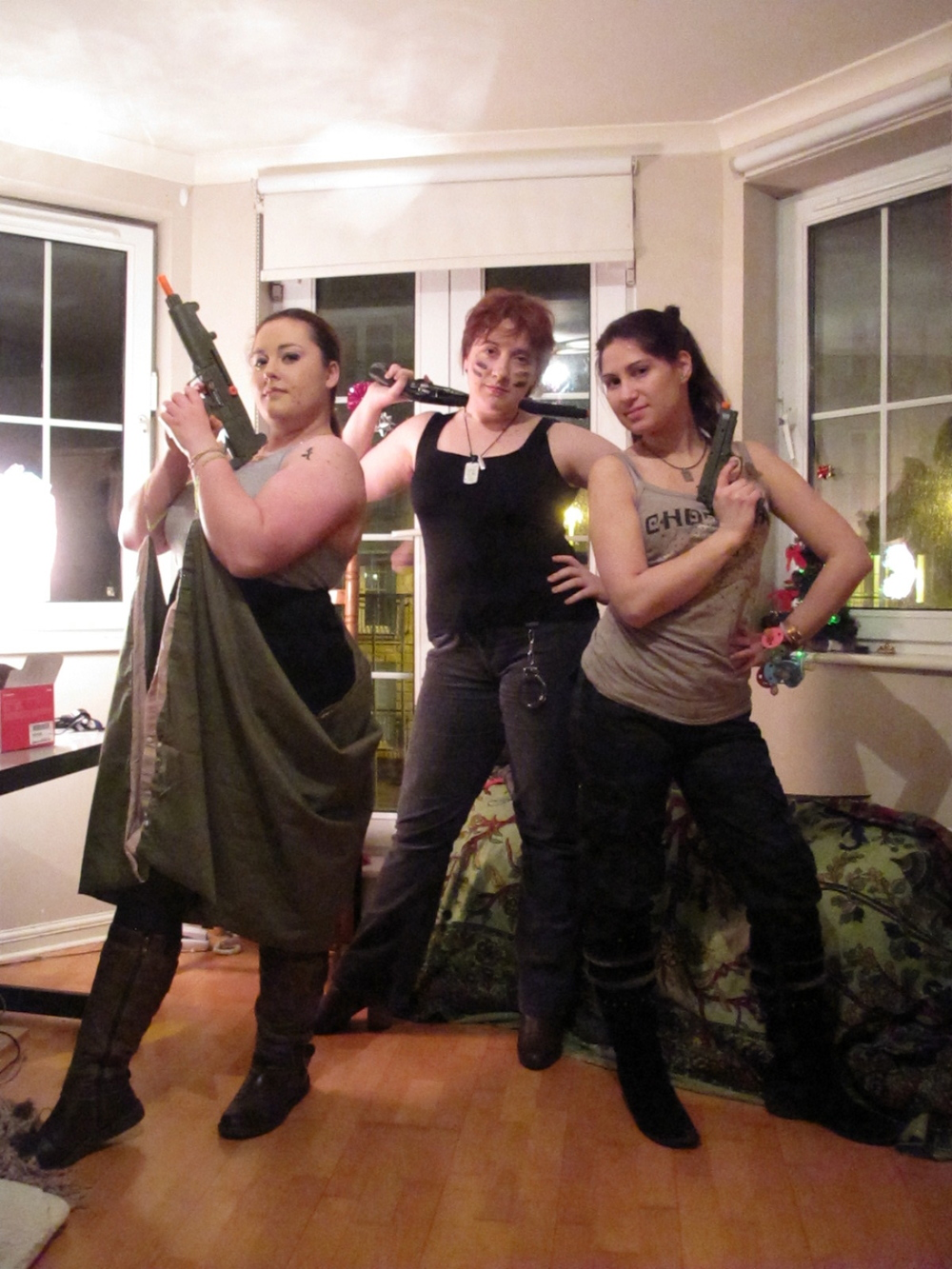 Three awesome, kick-ass ladies.