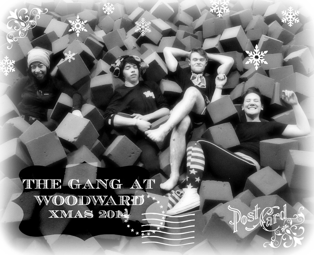 The gang at Woodward - Brenda, Oliver, Dannin and Faith.
