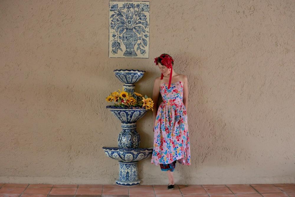 Zoe in Frida Kahlo style.