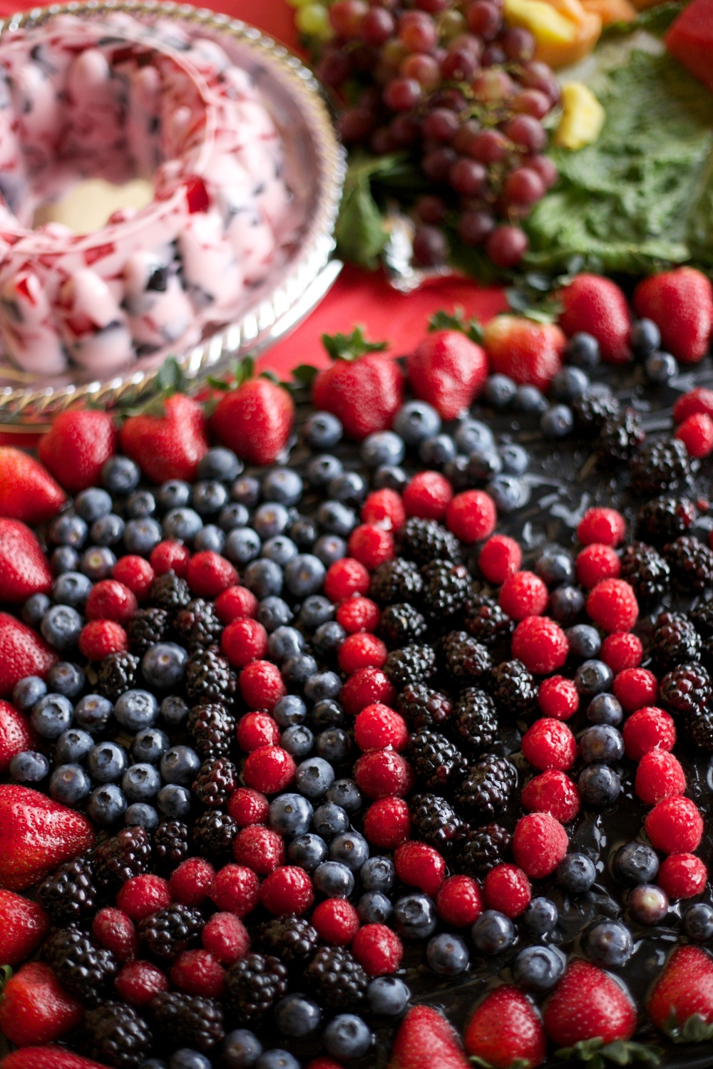 Amazing berry platter, Mexican parties