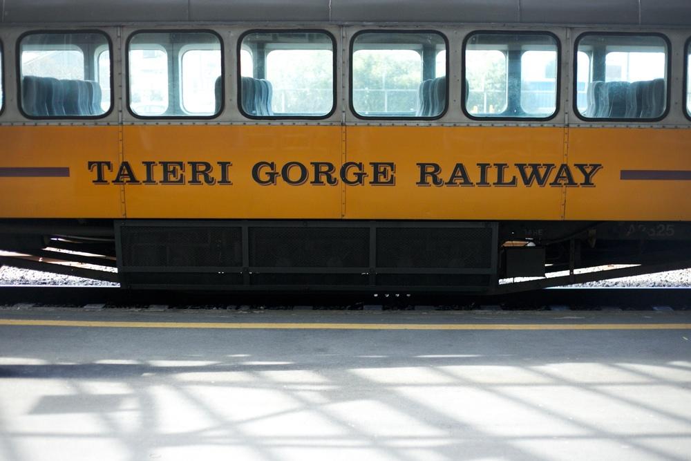 The Taieri Gorge train.