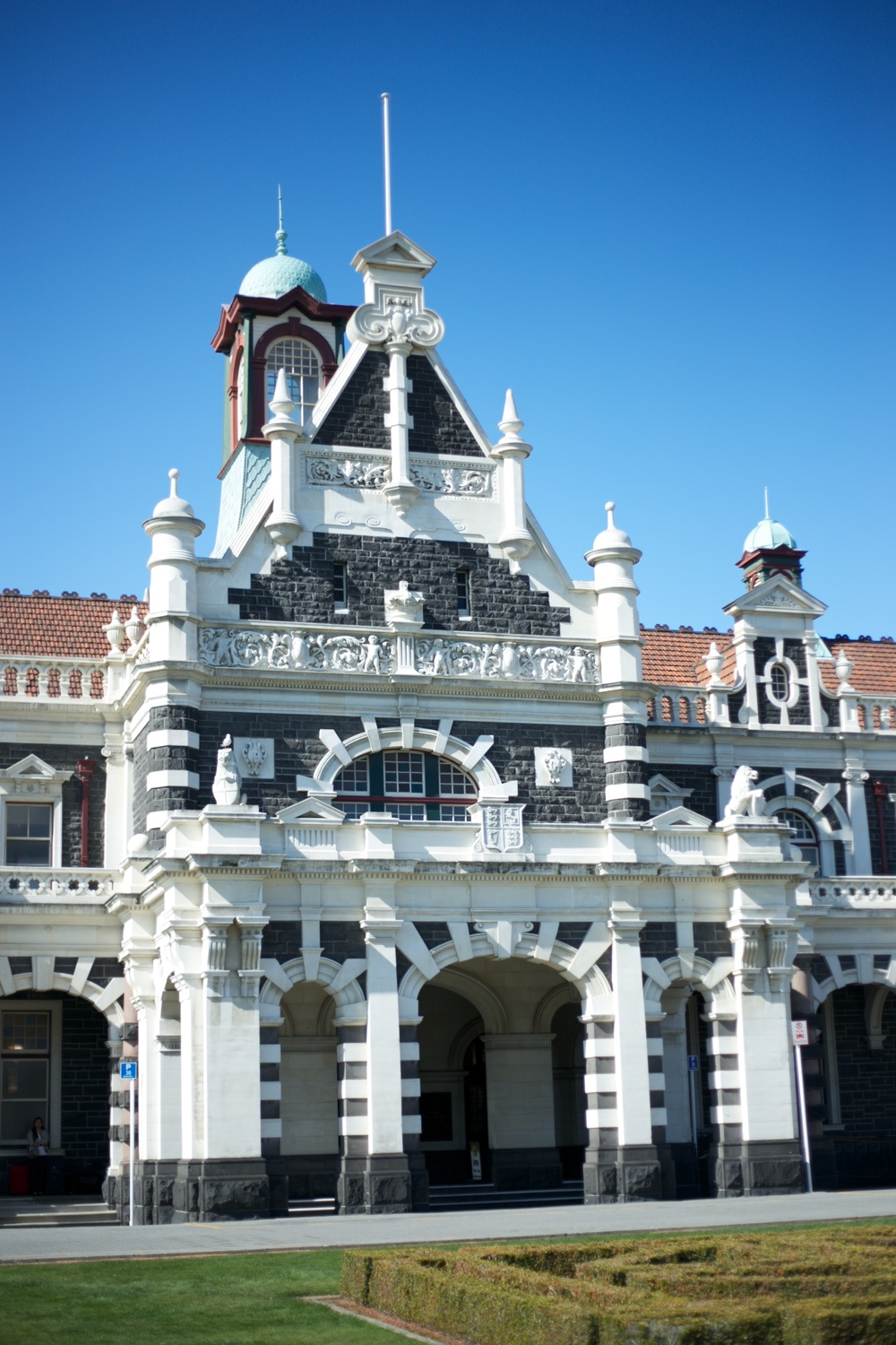 The Dunedin Railway Station, NZ.