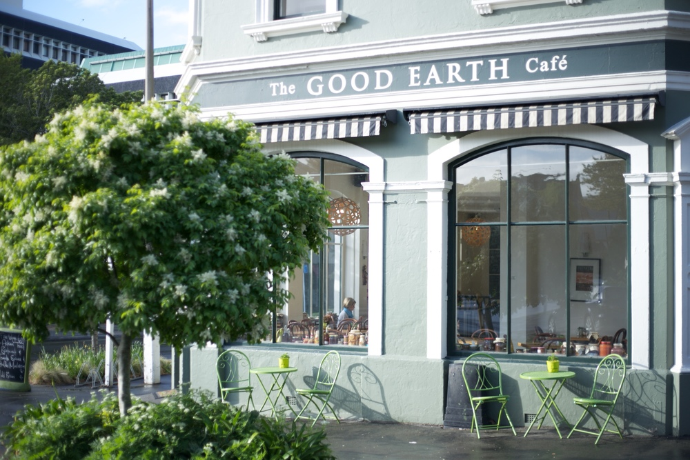 The Good Earth Cafe, Dunedin.