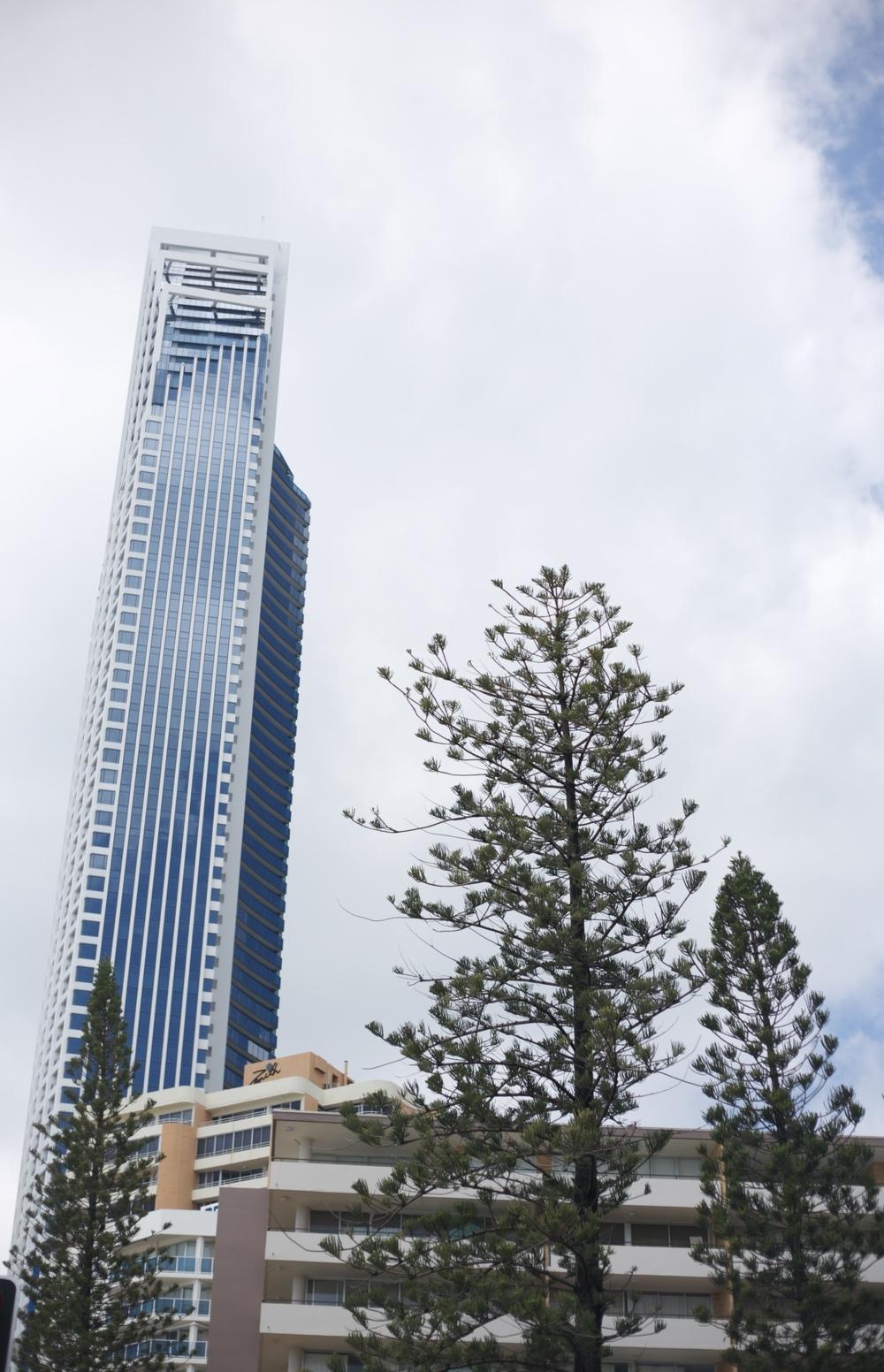 High rise buildings near Brisbane