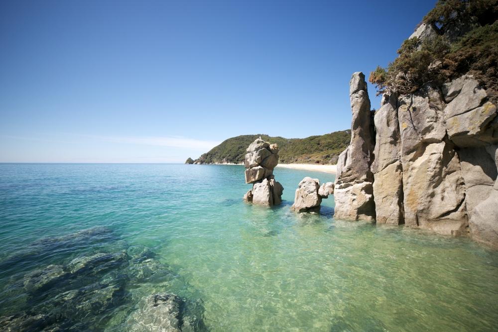 Anapai Bay, Able Tasman New Zealand.