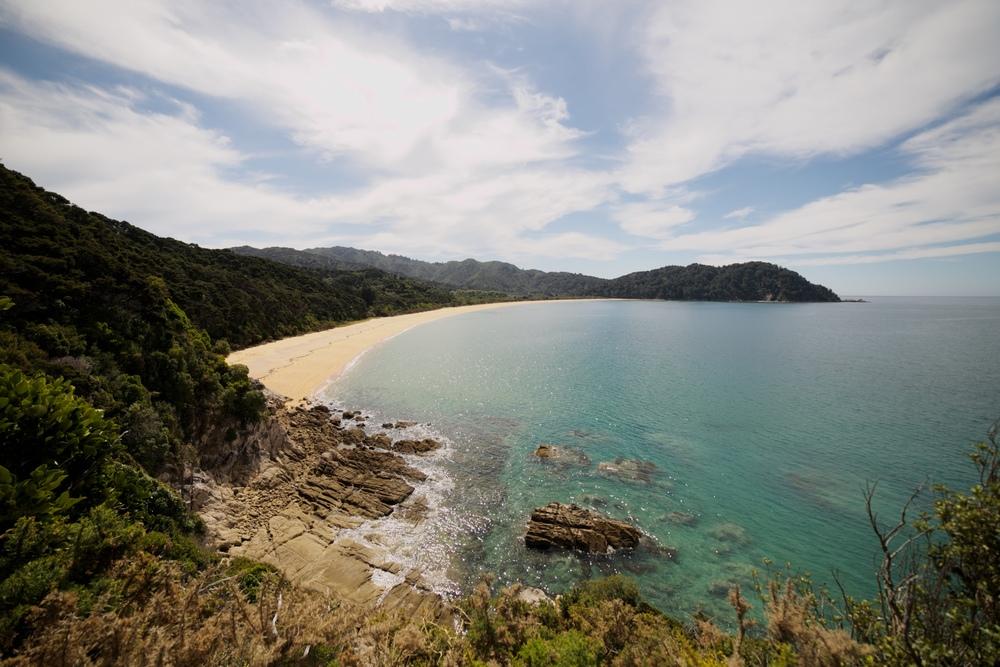 A view of Golden Bay, Able Tasman.