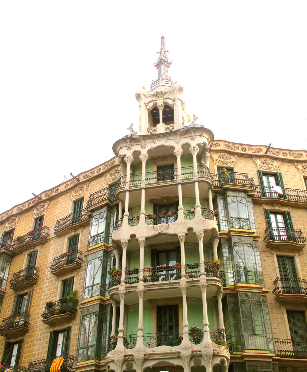 Organic architecture Barcelona.