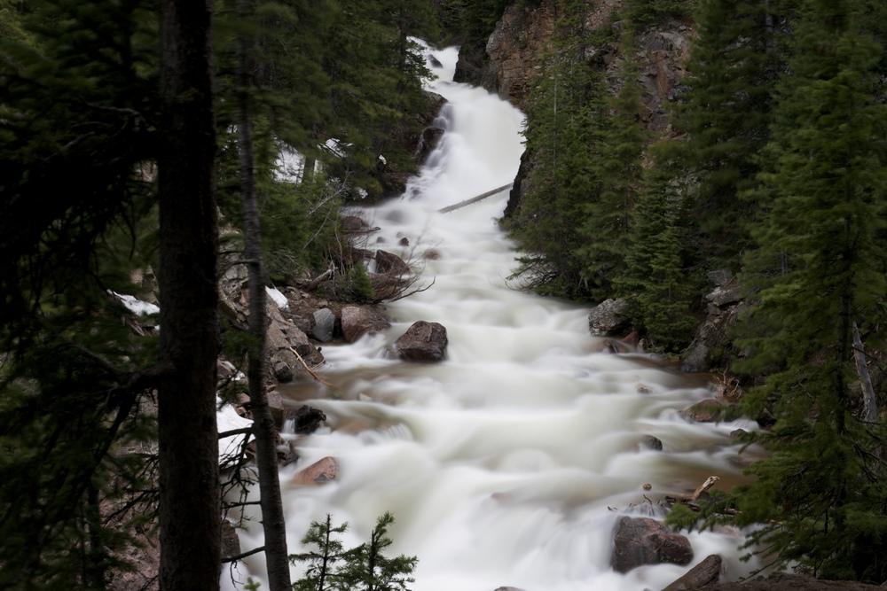 Booth Creek Falls, Colorado.