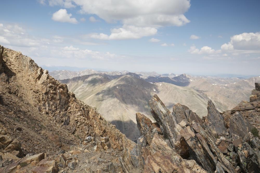 Rocky Mountains of Colorado.