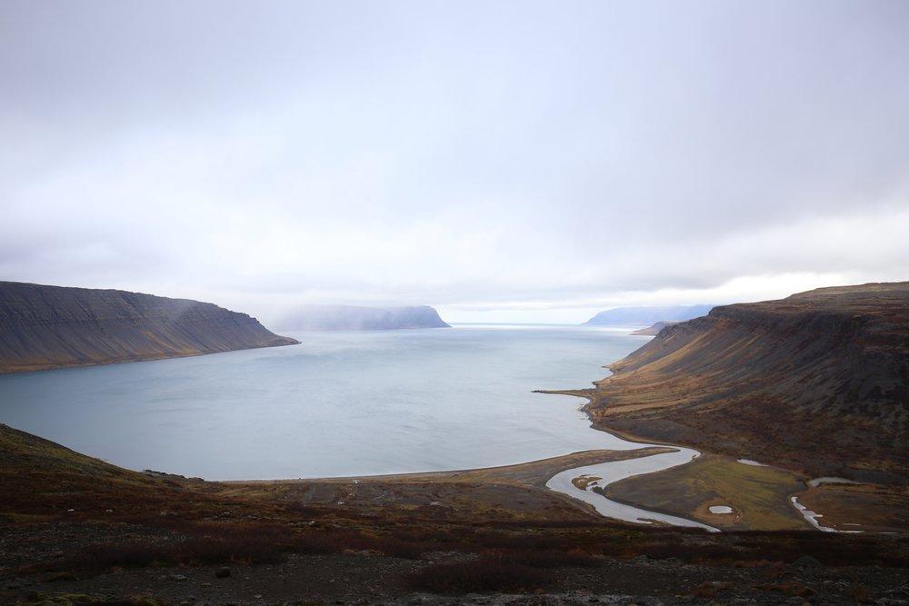 westfjords scenery iceland