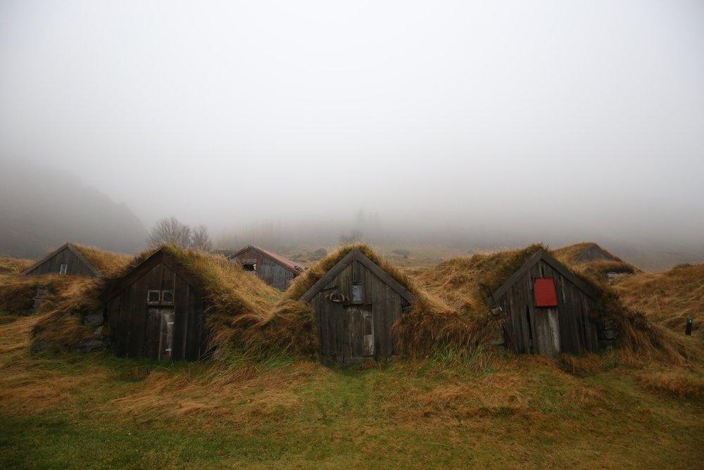 Nupsstadur turf village