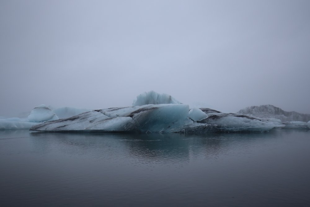 ice bergs iceland