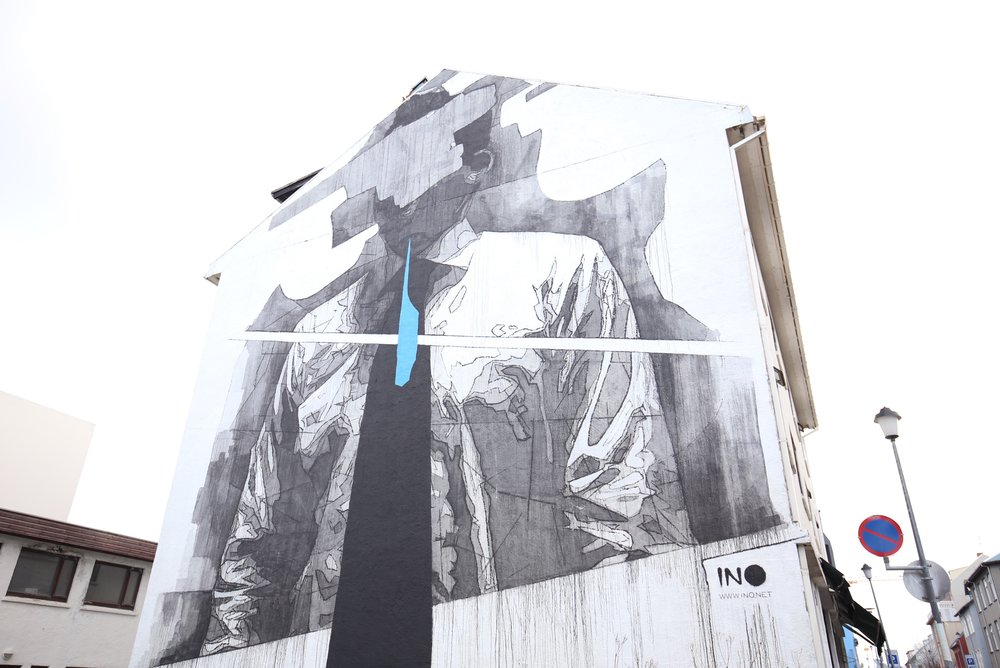 mens ties street art
