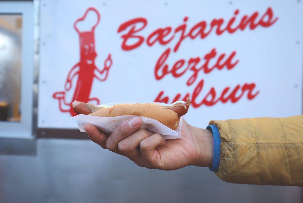 hot dog reykjavik
