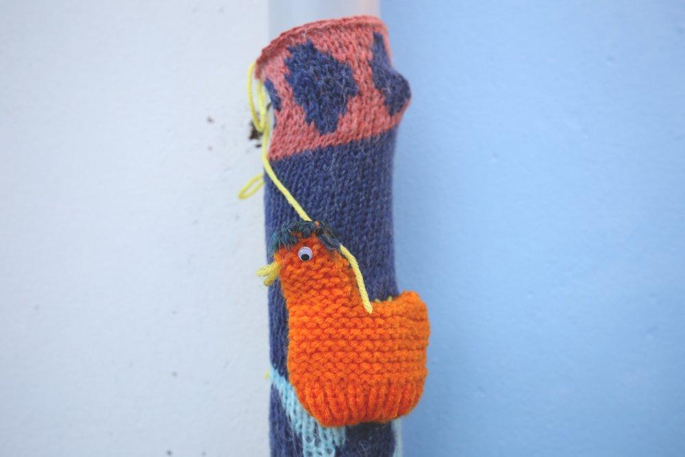 knitted graffiti