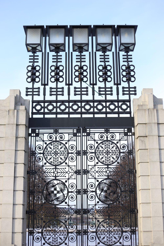 vigeland park gates