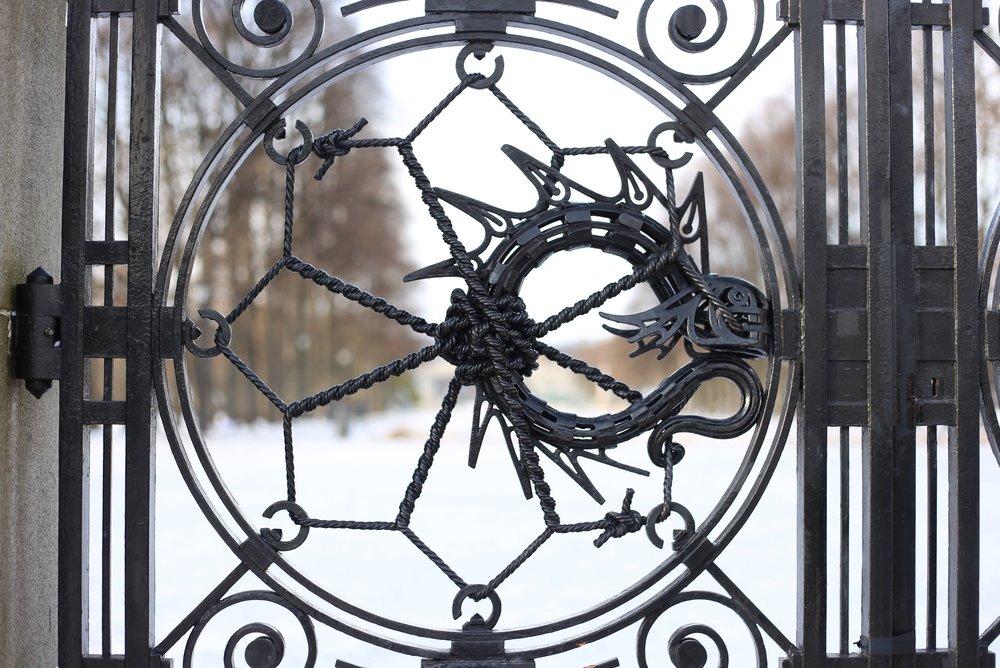 vigeland park gates oslo