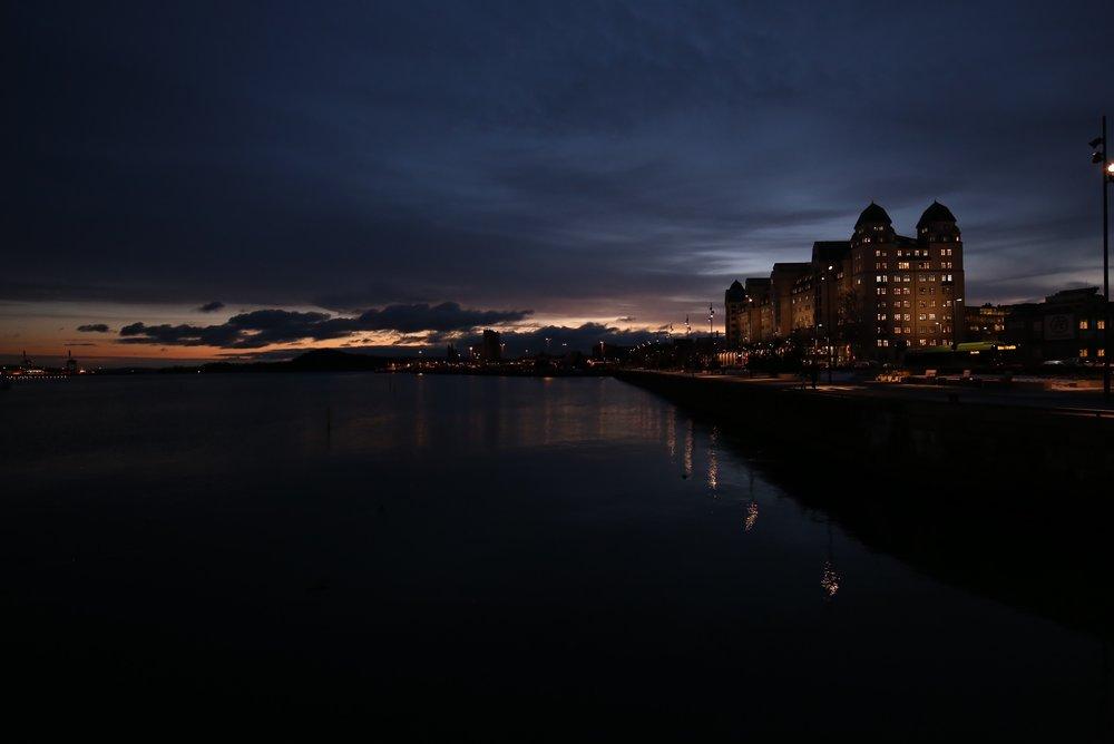 oslo lights at night