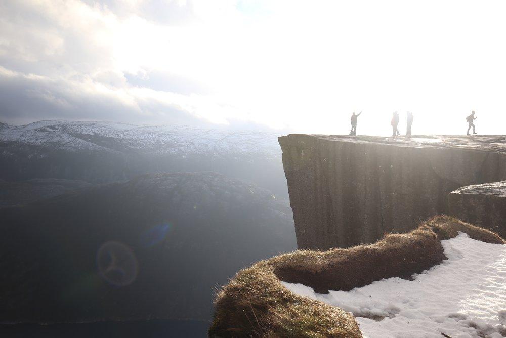 preikestolen cliff