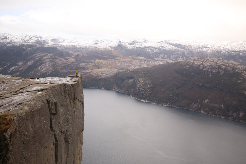 preikestolen in november