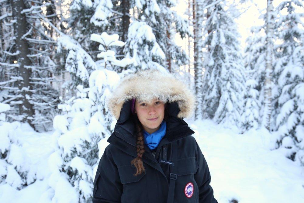 Zoe in Finland