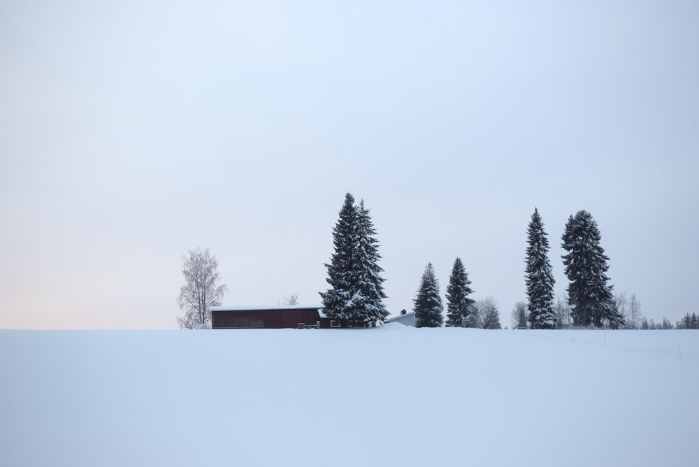 Finnish farmhouse