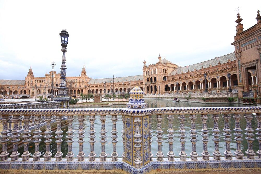 details plaza de España