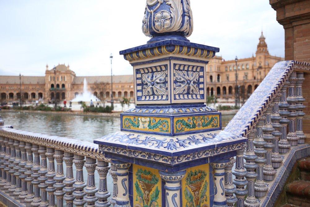 ceramics plaza de España