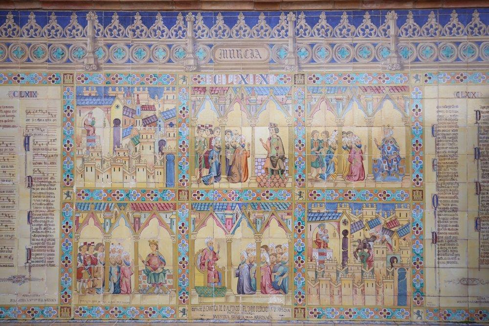 tiles from sevilla