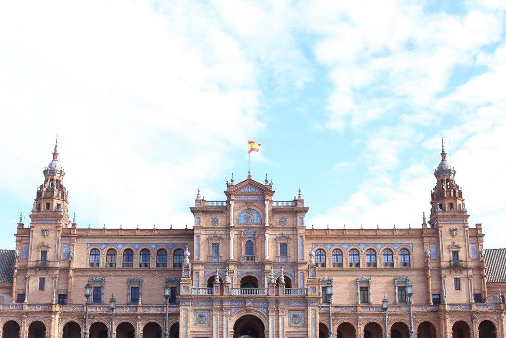 plaza de espana buildings