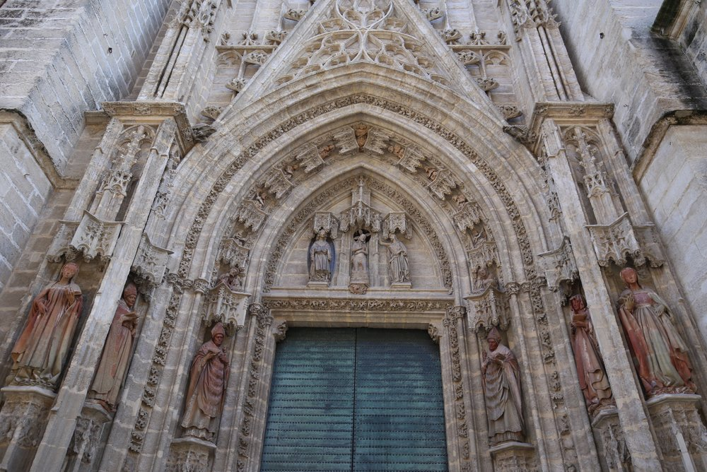 cathedral door tympanum sevilla