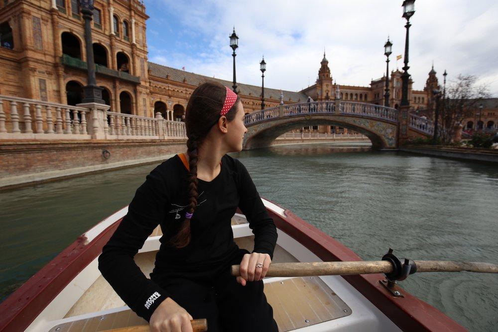 boating plaza de España