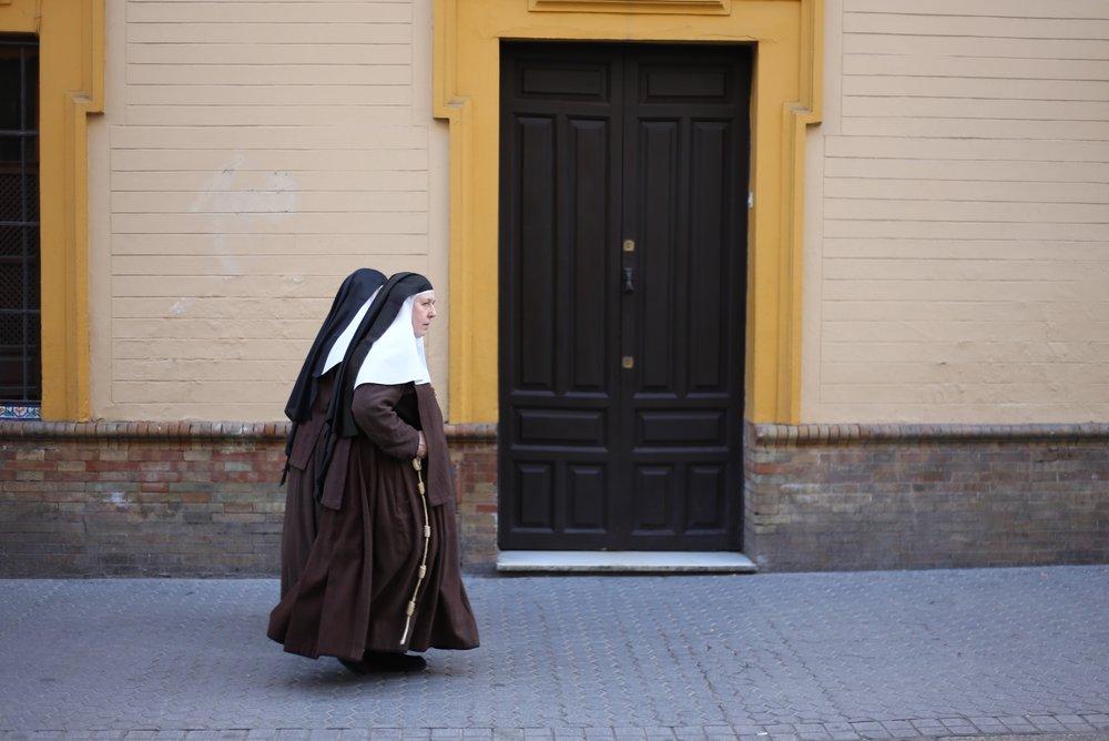 nuns in sevilla