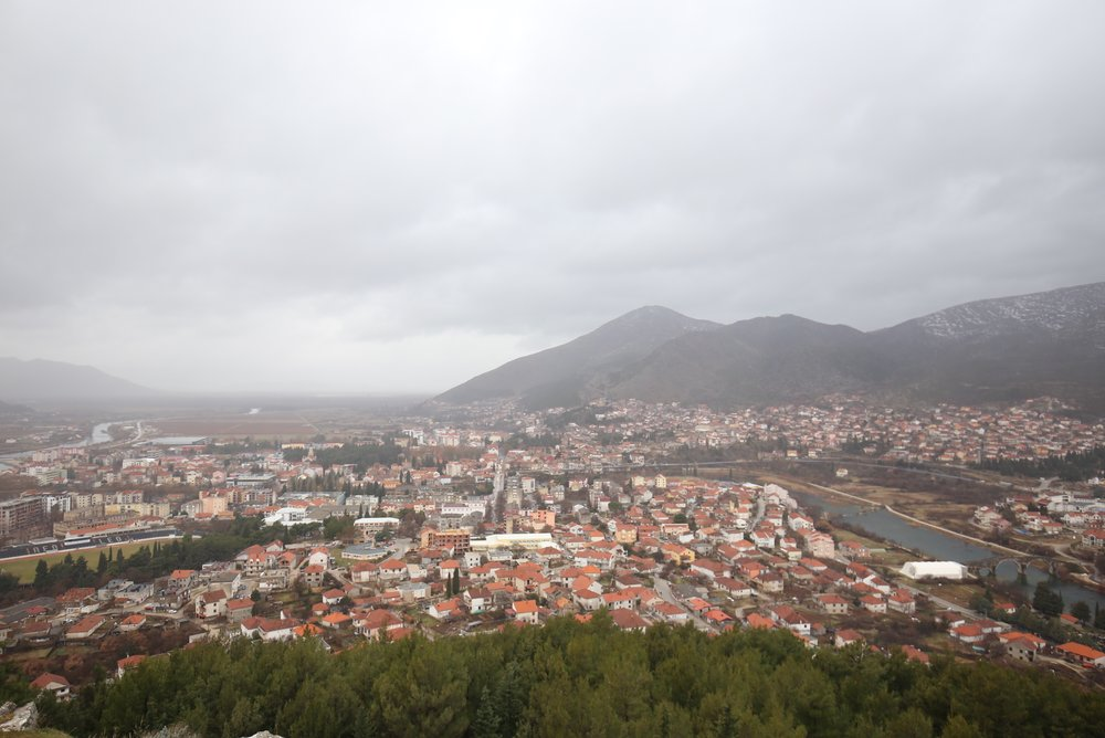 View of Trebinje city, Bosnia.