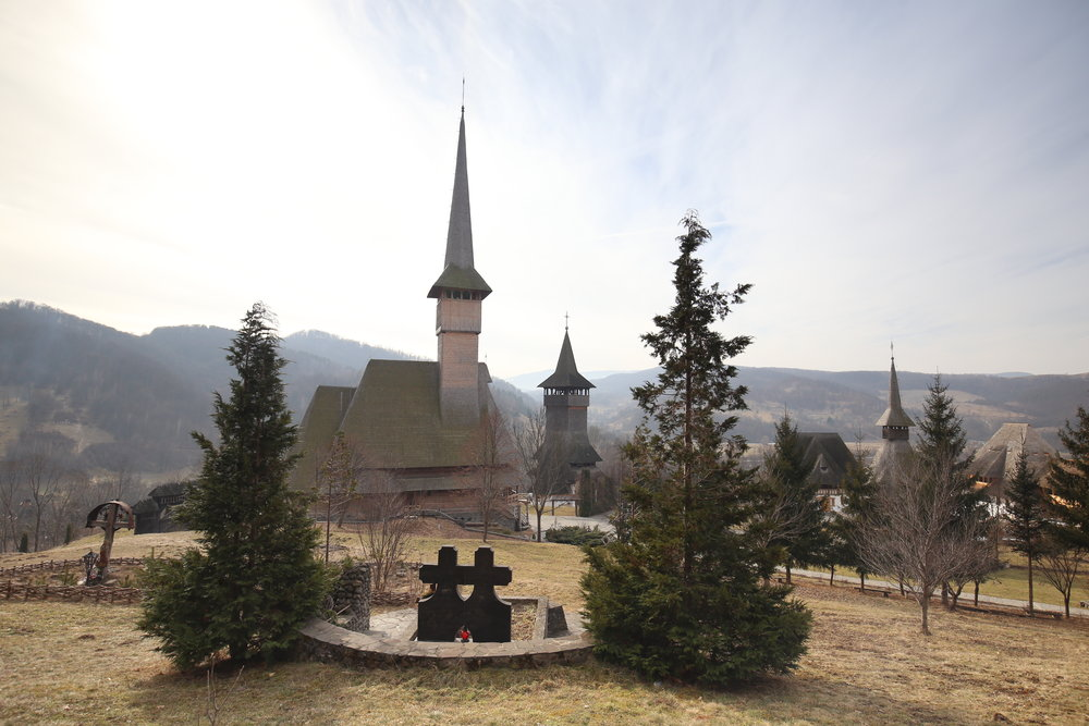 The wooden churches of Maramures.