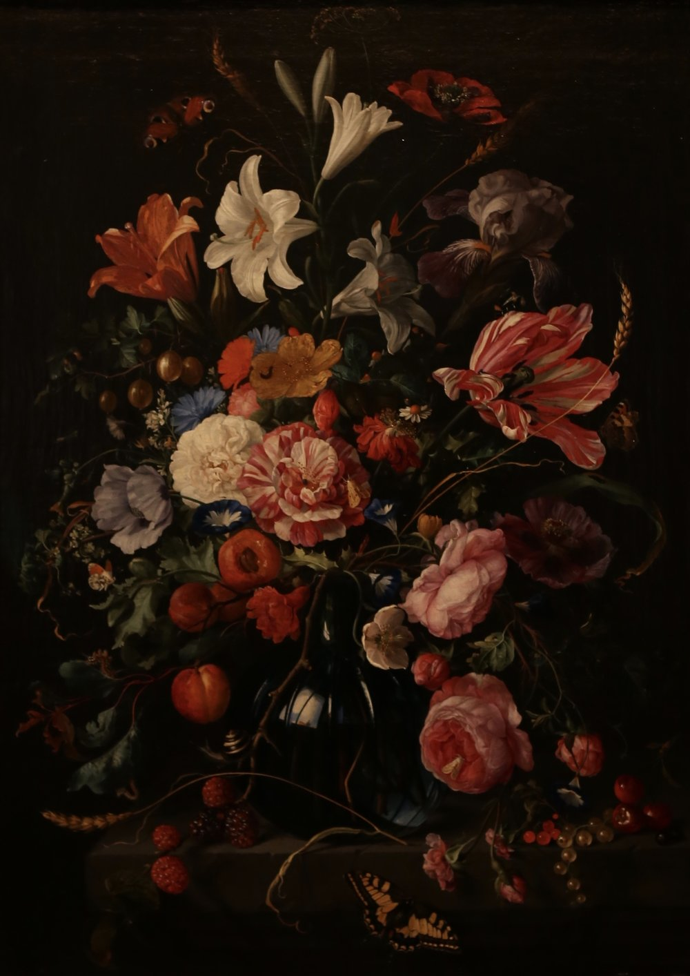 Vase of Flowers by Jan Davidzs de Heem.