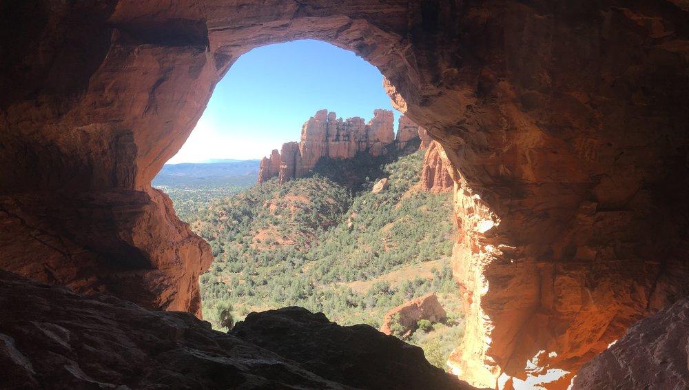 sedona keyhole cave