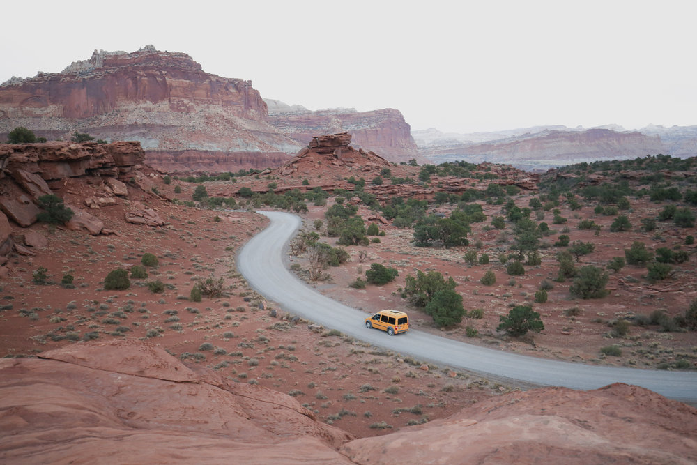 capitol-reef-national-park-drive