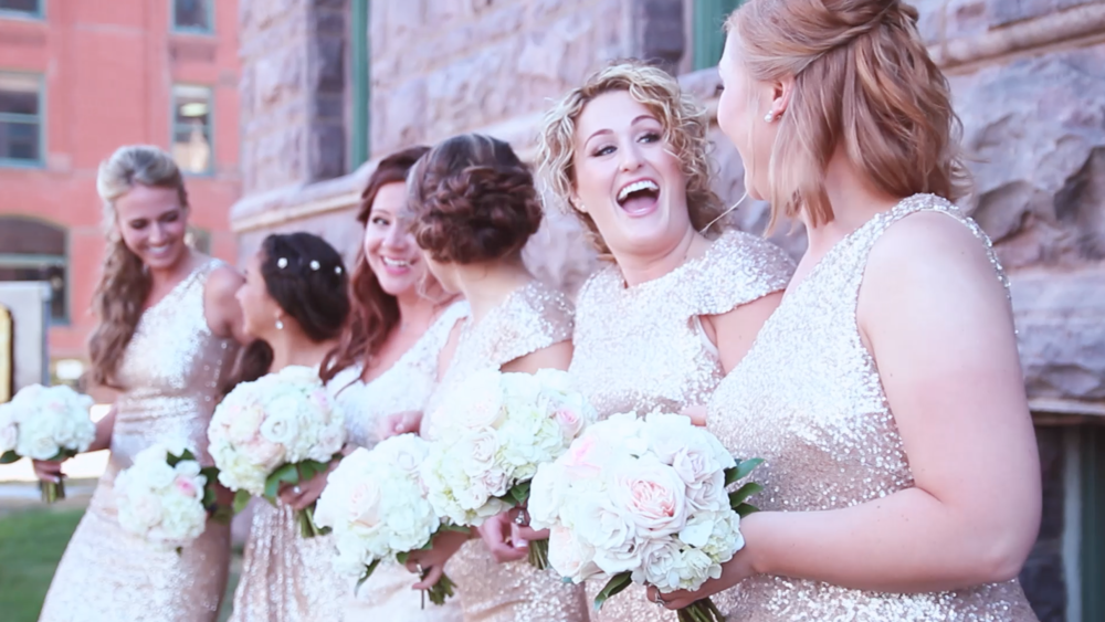 Last Minute Wed's favorite screenshot from our wedding films!