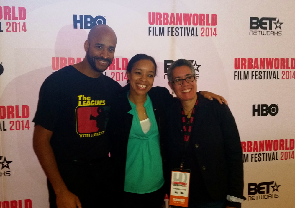 Urban World Film Festival with filmmaker, Booker T. Mattison and production designer, Toni Barton.