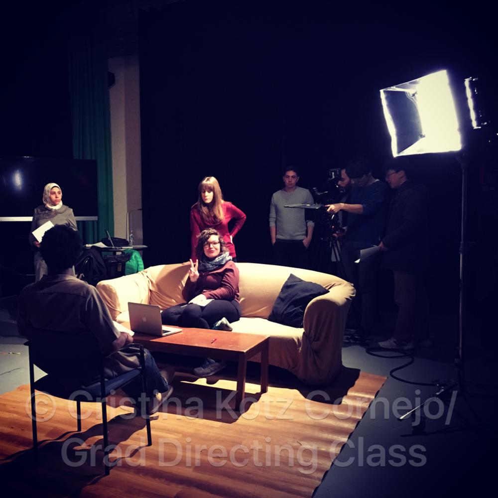 Emerson College MFA directing class.