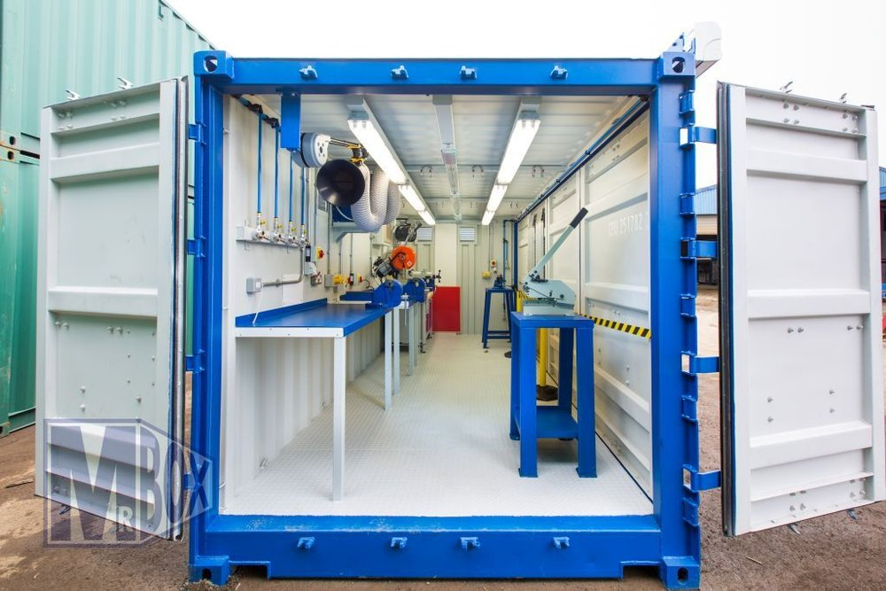 Sample container workshop