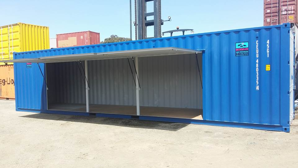 sample of modify container we need